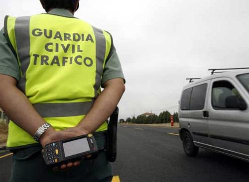 guardia civil multa de trafico